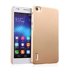 Cover Plastica Rigida Opaca per Huawei Honor 6 Oro