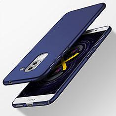 Cover Plastica Rigida Opaca per Huawei Honor 6X Pro Blu