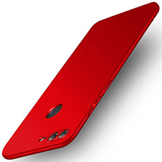 Cover Plastica Rigida Opaca per Huawei Honor 9 Lite Rosso