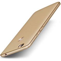 Cover Plastica Rigida Opaca per Huawei Honor V8 Max Oro