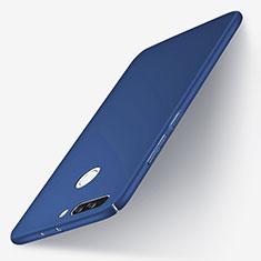Cover Plastica Rigida Opaca per Huawei Honor V9 Blu