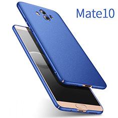 Cover Plastica Rigida Opaca per Huawei Mate 10 Blu