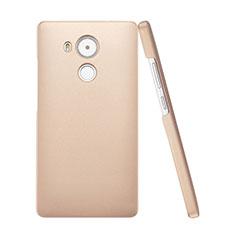 Cover Plastica Rigida Opaca per Huawei Mate 8 Oro