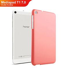 Cover Plastica Rigida Opaca per Huawei Mediapad T1 7.0 T1-701 T1-701U Rosso