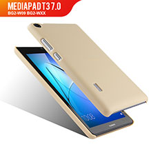 Cover Plastica Rigida Opaca per Huawei MediaPad T3 7.0 BG2-W09 BG2-WXX Oro