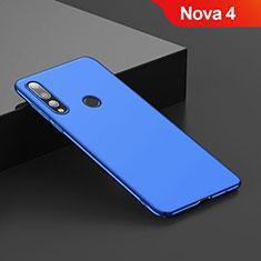Cover Plastica Rigida Opaca per Huawei Nova 4 Blu