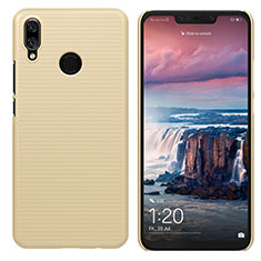Cover Plastica Rigida Opaca per Huawei P Smart+ Plus Oro