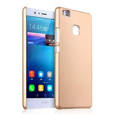 Cover Plastica Rigida Opaca per Huawei P9 Lite Oro