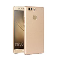 Cover Plastica Rigida Opaca per Huawei P9 Plus Oro