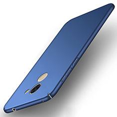 Cover Plastica Rigida Opaca per Huawei Y7 Prime Blu