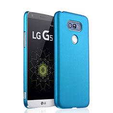 Cover Plastica Rigida Opaca per LG G5 Cielo Blu