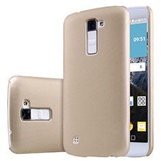 Cover Plastica Rigida Opaca per LG K10 Oro