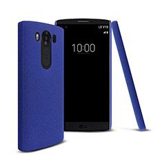Cover Plastica Rigida Opaca per LG V10 Blu