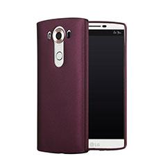Cover Plastica Rigida Opaca per LG V10 Rosso