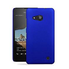 Cover Plastica Rigida Opaca per Microsoft Lumia 550 Blu