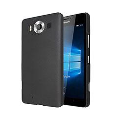 Cover Plastica Rigida Opaca per Microsoft Lumia 950 Nero