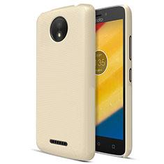 Cover Plastica Rigida Opaca per Motorola Moto C Plus Oro