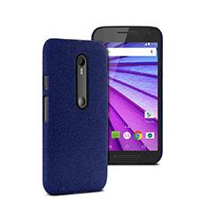 Cover Plastica Rigida Opaca per Motorola Moto G (3rd Gen) Blu