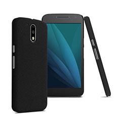 Cover Plastica Rigida Opaca per Motorola Moto G4 Plus Nero