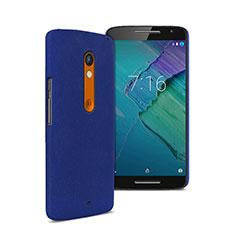 Cover Plastica Rigida Opaca per Motorola Moto X Play Blu