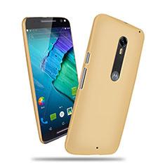 Cover Plastica Rigida Opaca per Motorola Moto X Style Oro