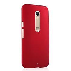 Cover Plastica Rigida Opaca per Motorola Moto X Style Rosso