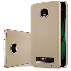 Cover Plastica Rigida Opaca per Motorola Moto Z Play Oro