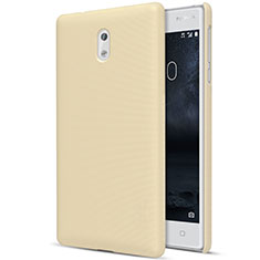 Cover Plastica Rigida Opaca per Nokia 3 Oro
