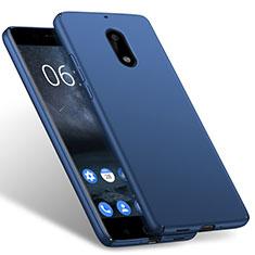 Cover Plastica Rigida Opaca per Nokia 6 Blu