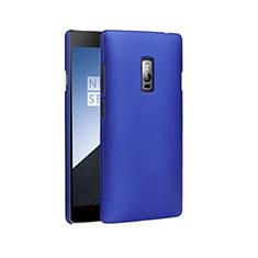 Cover Plastica Rigida Opaca per OnePlus 2 Blu