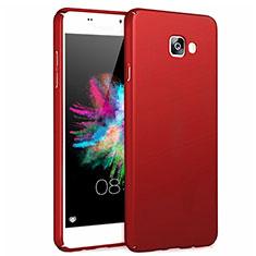 Cover Plastica Rigida Opaca per Samsung Galaxy A7 (2017) A720F Rosso