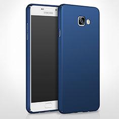 Cover Plastica Rigida Opaca per Samsung Galaxy A8 (2016) A8100 A810F Blu