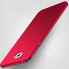 Cover Plastica Rigida Opaca per Samsung Galaxy C7 Pro C7010 Rosso