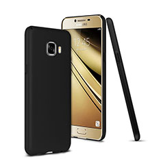 Cover Plastica Rigida Opaca per Samsung Galaxy C7 SM-C7000 Nero