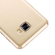 Cover Plastica Rigida Opaca per Samsung Galaxy C7 SM-C7000 Oro