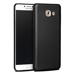 Cover Plastica Rigida Opaca per Samsung Galaxy C9 Pro C9000 Nero
