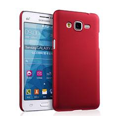Cover Plastica Rigida Opaca per Samsung Galaxy Grand Prime SM-G530H Rosso