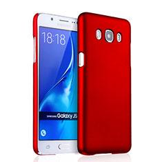 Cover Plastica Rigida Opaca per Samsung Galaxy J5 Duos (2016) Rosso