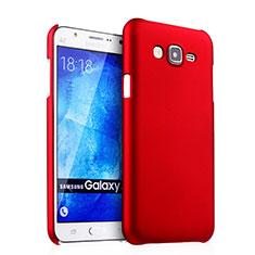 Cover Plastica Rigida Opaca per Samsung Galaxy J5 SM-J500F Rosso