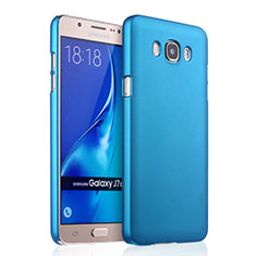 Cover Plastica Rigida Opaca per Samsung Galaxy J7 (2016) J710F J710FN Cielo Blu