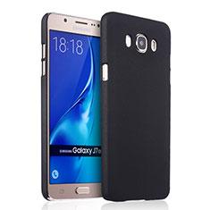 Cover Plastica Rigida Opaca per Samsung Galaxy J7 (2016) J710F J710FN Nero