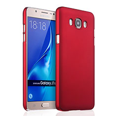 Cover Plastica Rigida Opaca per Samsung Galaxy J7 (2016) J710F J710FN Rosso