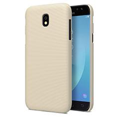 Cover Plastica Rigida Opaca per Samsung Galaxy J7 Pro Oro
