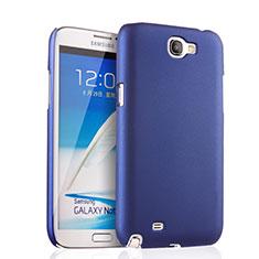 Cover Plastica Rigida Opaca per Samsung Galaxy Note 2 N7100 N7105 Blu