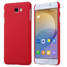 Cover Plastica Rigida Opaca per Samsung Galaxy On5 (2016) G570 G570F Rosso
