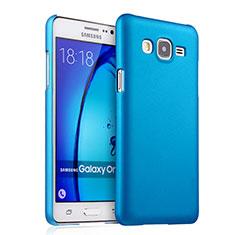 Cover Plastica Rigida Opaca per Samsung Galaxy On5 G550FY Cielo Blu