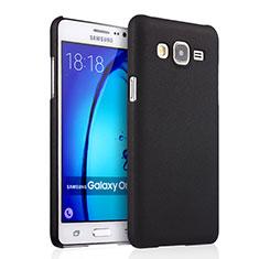 Cover Plastica Rigida Opaca per Samsung Galaxy On5 G550FY Nero