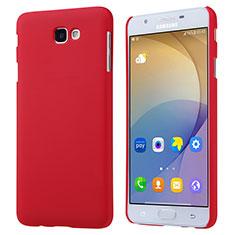 Cover Plastica Rigida Opaca per Samsung Galaxy On7 (2016) G6100 Rosso