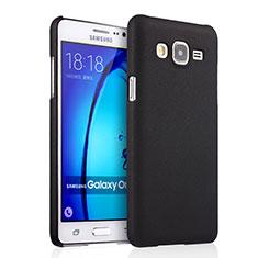 Cover Plastica Rigida Opaca per Samsung Galaxy On7 Pro Nero