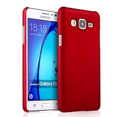 Cover Plastica Rigida Opaca per Samsung Galaxy On7 Pro Rosso